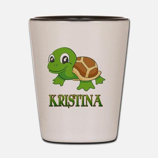 Unique Kristina Shot Glass
