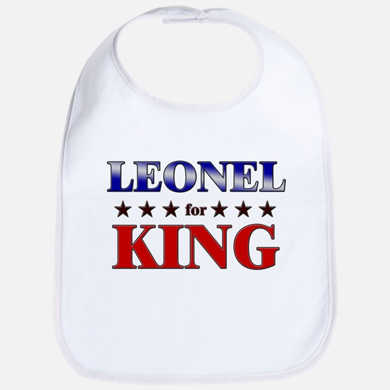 LEONEL for king Bib