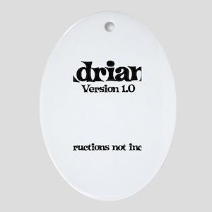 Adriana - Version 1.0 Oval Ornament