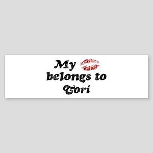 Kiss Belongs to Tori Bumper Sticker