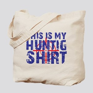 This Is My Hunting Shirt Tote Bag
