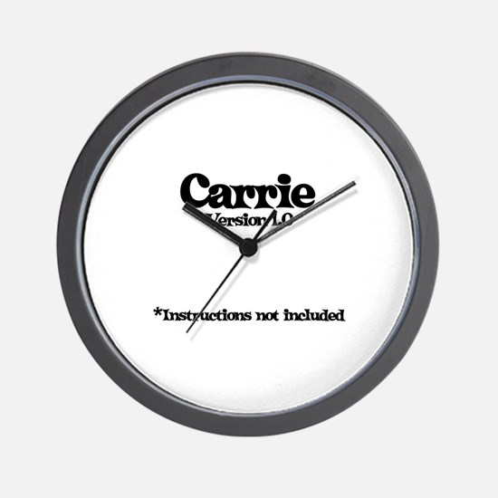 Carrie - Version 1.0 Wall Clock