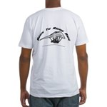 Born to Ridge Ride Fitted T-Shirt