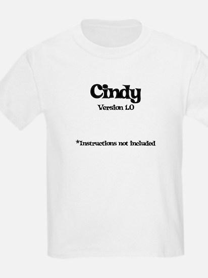 Cindy - Version 1.0 T-Shirt