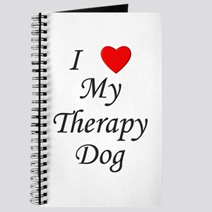 I Love My Therapy Dog Journal