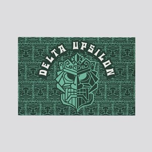 Delta Upsilon Beach Rectangle Magnet
