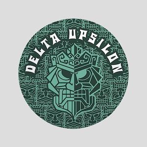 "Delta Upsilon Beach 3.5"" Button"
