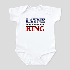 LAYNE for king Infant Bodysuit