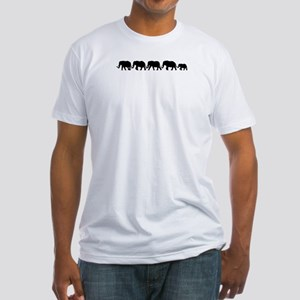 ELEPHANT LINE Fitted T-Shirt