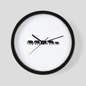 ELEPHANT LINE Wall Clock