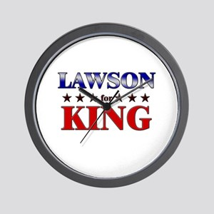 LAWSON for king Wall Clock