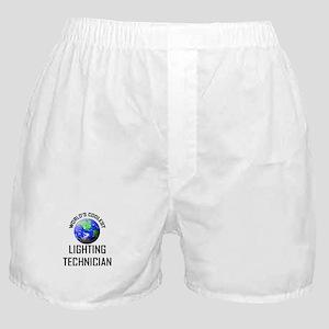 World's Coolest LIGHTING TECHNICIAN Boxer Shorts
