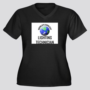 World's Coolest LIGHTING TECHNICIAN Women's Plus S
