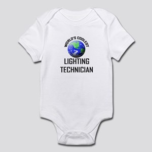 World's Coolest LIGHTING TECHNICIAN Infant Bodysui