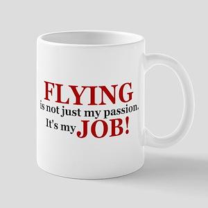 It's a JOB! (red) Mug