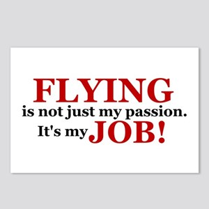 It's a JOB! (red) Postcards (Package of 8)