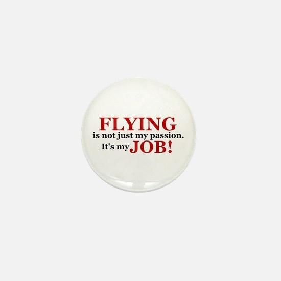 It's a JOB! (red) Mini Button