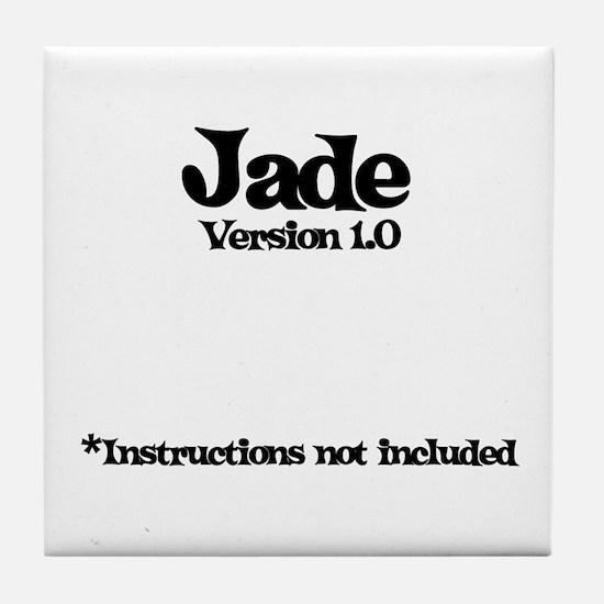 Jade - Version 1.0 Tile Coaster