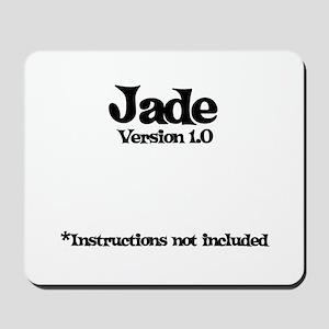 Jade - Version 1.0 Mousepad