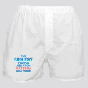 Coolest: Massena, NY Boxer Shorts