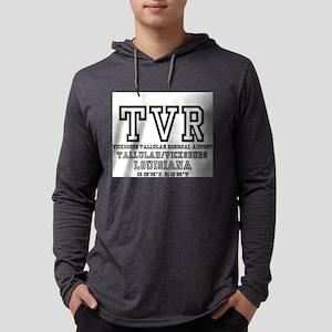 AIRPORT CODES - TVR - VICKSBUR Long Sleeve T-Shirt