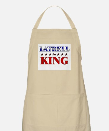 LATRELL for king BBQ Apron
