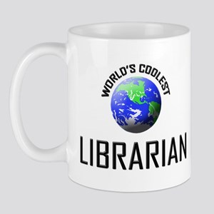 World's Coolest LIBRARIAN Mug