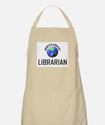 World's Coolest LIBRARIAN BBQ Apron