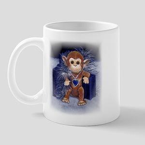 Monkey Watercolor Mug