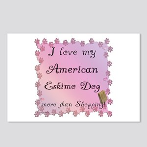 Eskimo Shopping Postcards (Package of 8)