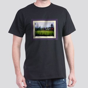 Autum Landscape Dark T-Shirt
