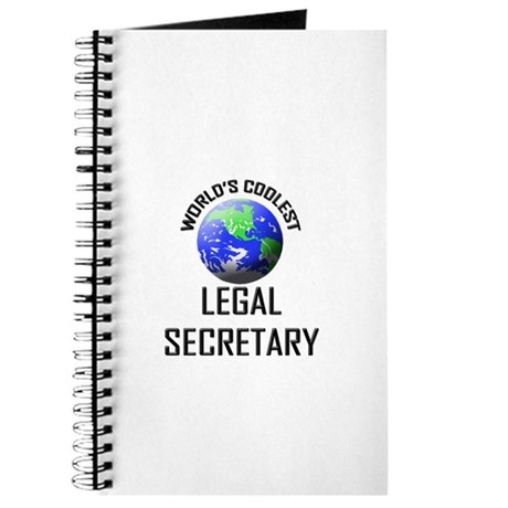 World's Coolest LEGAL SECRETARY Journal