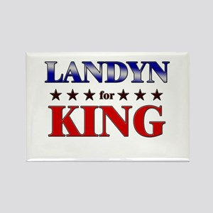 LANDYN for king Rectangle Magnet
