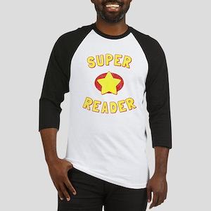 Super Reader Baseball Jersey