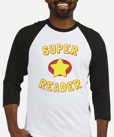 Super Reader Baseball Jersey