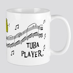 Musical Tuba Player Mug
