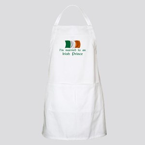 Married To Irish Prince BBQ Apron