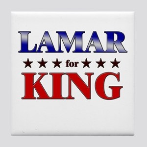 LAMAR for king Tile Coaster