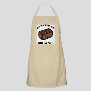 Powered By Brownie BBQ Apron