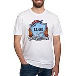 USS MEDREGAL Fitted T-Shirt