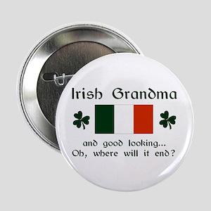 "Gd Lkg Irish Grandma 2.25"" Button"