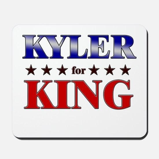 KYLER for king Mousepad