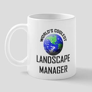 World's Coolest LANDSCAPE MANAGER Mug