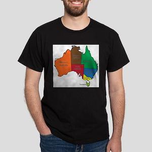 Australia Territories Colour T-Shirt