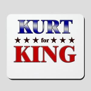 KURT for king Mousepad