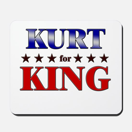 KURT for king Mousepad