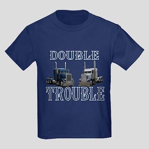 Double Trouble Kids Dark T-Shirt