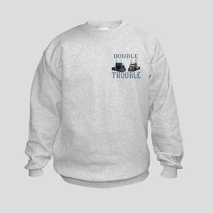 Double Trouble Kids Sweatshirt