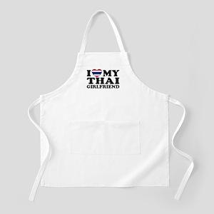 I Love My Thai Girlfriend BBQ Apron