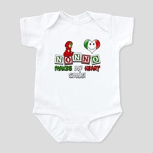 Nonno Makes My Heart Smile Infant Bodysuit